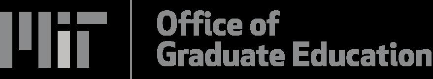 MIT Office of Graduate Education