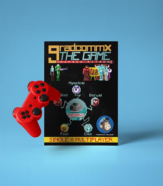 Gradcommx The Game: Inspace Attack!
